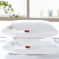 Wholesale 48cm x cm Cotton Velvet Feather Antibacterial Protection Helps Sleep Health Cervical Fashion Accessories Soft Pillow
