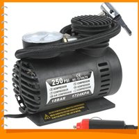 Wholesale 250PSI V Electric Car Tire Tyre Inflator Pump Portable Auto Car Pump Air Compressor with Pneumatic Nozzle