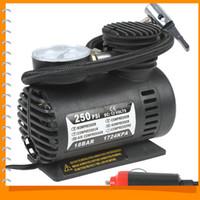 Wholesale 250PSI V Electric Car Tire Tyre Inflator Pump Portable Auto Car Pump Air Compressor with Pneumatic Nozzle