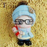 Wholesale Money Coin Box Piggy Bank Home Decoration Child Gift Girl with Glasses Doll