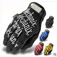 active navy seals - New Five Fingers Gloves Mechanix Wear Sof Navy Seals Devgru Gloves F1 Top Quality Racing Gloves Moto Glove Shooting Bike motorcycle Military
