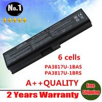 toshiba laptops - New cells Laptop Battery For Toshiba Satellite L750 L700 L770 C660 series PA3817U BAS PA3817U BRS
