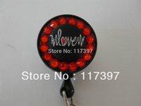 badge reels heavy duty - Medical Badge Key ID Reels Holders heavy duty and fabric Rihinestone ID Reel Holder
