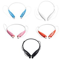 Wholesale Wireless Bluetooth Sports Neckband Headphones Earphones With MP3 Mic Hands Free HV