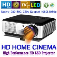 Wholesale 4200lumensProjector Full HD LED Daytime Projector LCD D Wifi smart Proyector with led lamp over hs life