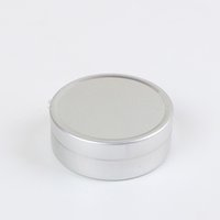 Wholesale 10ml Empty Nail Art Cream Pot Lip Balm Cosmetic Tin Containers Bottles Screw Thread Cosmetic Pot Jar Tin Container