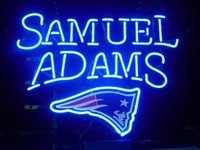 beer england - ENGLAND PATRIOTS SAMUEL ADAMS LAGER NEON SIGN BAR LIGHT BEER PUB REAL GLASS TUBE SIGNS quot