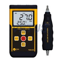acceleration speed - Handheld vibration meter price TM63B TM B of Speed Acceleration Displacement Integrated with Vibration probe configuration A