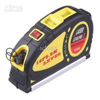 Wholesale 20pcs mw Laser Level Spirit Level M F Retractable Measuring Tape Multi Function Tool