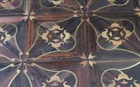 Wholesale Walls Living room TVwood floor Copper wood floor Mosaic floor Combination floor High end custom floor Design House floor Jade inl