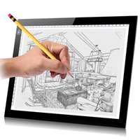 Wholesale HUION L4S A4 led Light Pad Adjustable Tracing Handwriting Boards Acrylic Plates Professional Graphic Drawing Painting tablet