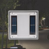 Wholesale High Quality New Style Solar LED Underground Light Square IP68 Waterproof Buried Lamp for Park Garden Courtyard Path Layout Lawn