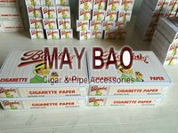 big roll of paper - One box of x mm Bambu Cigarette Rolling Papers Big Bambu Smoking Rolling Paper booklets