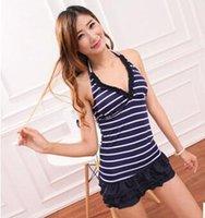 Cheap women swimwear Best Navy wind swimwear