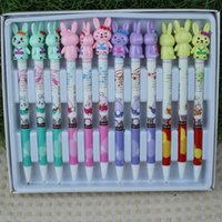 mechanical pencil - High quality automatic pencil mm rabbit cartoon Mechanical pencil stationery supply student s favorite