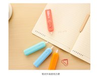 Wholesale Creative Kids electric eraser Korea Pupils sketch automatic like leather school supplies stationery gift