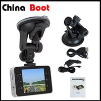 Wholesale 2 LCD K6000 Car Camera Car DVR Full HD P Vehicle Camera LED Night Vision Video Recorder Car camera recorder