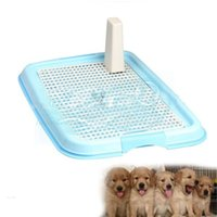 automatic tray - Hot Sell Easy Use Practical Puppy Dog Cat Indoor Plastic Pet Toilet Pad Tray New