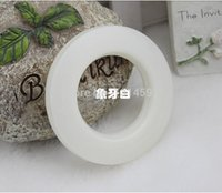 accessories curtains - 85 sets new High quality Fashion Curtain accessories ring roman color white grommet for curtains hole digging circle