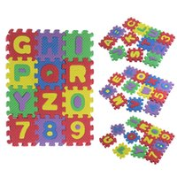 Wholesale Educational Kids Boys Girls Puzzles Baby Child Number Alphabet EVA Puzzle Foam Maths Learning Toy Montessori Early