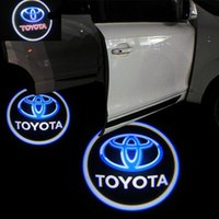 Wholesale 50pcs W SUPERBRIGHT TH GENERATION CAR LED LOGO FOR TOYOTA WITH