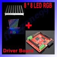arduino led screen - Full color LED RGB Matrix Dot Screen Module Driver Board for Arduino FZ0455 Dropshipping