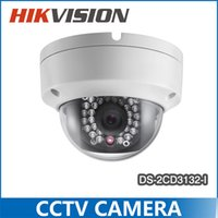 Wholesale 2015 Hikvision Camera DS CD3132 I MP Mini Dome Camera Similar as DS CD2132F IS Multi language P PoE IP Camera
