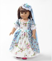 baby giving birth - Hot new style Popular American girl doll clothes dress give baby Christmas best gift b133