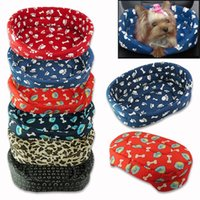 Wholesale Winter Warm Sweet Cama Para Cachorro Pet Kitten Puppy Cat Dog Cushion Couch Basket Sofa Bed Mat Pad ET0060