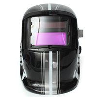 auto racing helmets - Special Offer Hot Sale High Quality Black Pro Solar For Welder Mask Electrowelding Auto Darkening Welding Helmet Racing Track
