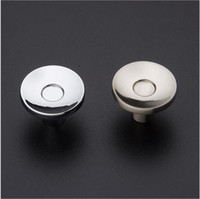 Wholesale modern round vintage door knob pull for cabinet kitchen and drawer simple Zinc Alloy door knob