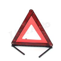 automotive signs - Automotive Warning Triangle Vehicle Vehicle parking reflective warning Signs collapsible Emergency Safety Supplies