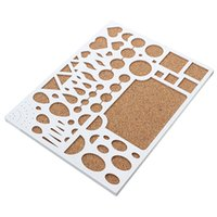 Wholesale Plastic Soft Wood Paper Quilling Template Board Papercraft DIY Tool Scrapbooks mm x mm x mm High Quality