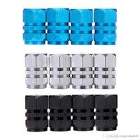 Wholesale Universal Auto Bicycle Car Tire Tyre Wheel Hexagonal Ventile Air Valve Stems Cap Cover Cap Airtight rims Accessories A5