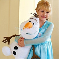 Wholesale Sample order Christmas Gift Baby Toy Cartoon Movie Lovely Olaf Snowman Children Plush Toys For Sale Olaf Toys YY3029