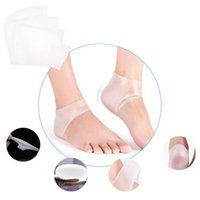 Wholesale 2015 make up tool Silicone Moisturizing Gel Heel Socks Cracked Foot Skin Care Protector east