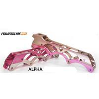 alpha base - Original Powerslide Alpha Inline Skating Frames mm Rockered mm Plane Frames For SEBA Slalom Skates Base Rocking Basin