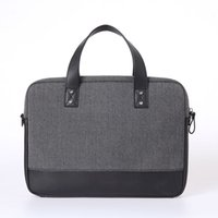 Wholesale 13 Inch Laptop Bags GENUINE LEATHER Computer Bag for Macbook Air Pro Free Keyboard Cover for Macbook Women Messenger Bag