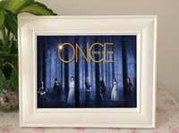 Wholesale Home decoration Photo Frame pictures Once Upon A Time can be replaced with US TV Series Movie dvds photos DHL