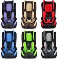 Asientos de coche de seguridad cómodos para 0 ~ 12 años los niños de edad bebé asientos de coche 6 colores suministro niños protección productos silla