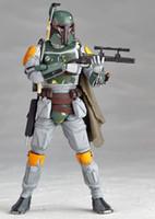 New Star Wars Clone Wars Attaque des clones Bounty Hunter Boba Fett Jango 16cm Figurine Figurine Toy Avec boîte E313