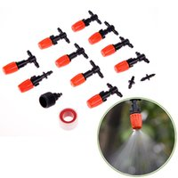 Wholesale 10M Micro Mist Cooling Atomizer Kit Garden Outdoor Spray Nozzles