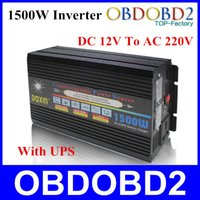 Wholesale Top Selling W Doxin Car Power Inverter DC V To AC V Watt A With UPS And Steady Function