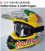 motocross gear - KTM Motocross Helmet Goggle Motorcycle Off Road Capacete Motor Casco Protective Gear Matched MX Goggles