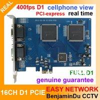 PCIE 16 CH 480fps Tarjeta de resolución de alta calidad en tiempo real CCTV DVR 16CH PCI BNC TARJETA DVR