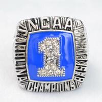 N.CA.A.Fans Collection 1994 anillos Campeonato Campeonato Universidad de Carolina del Norte Baloncesto