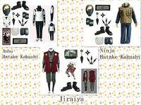 Adult anbu cosplay mask - 2015 Top Fashion Disfraces Halloween Costumes for Naruto Anbu Hatake Kakashi Jiraiya Leaf Village Cosplay Costume Mask Whole Set
