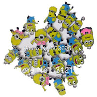 enamel charms - Despicable Me Minion Metal Zinc Alloy Enamel Charms Pendants for Girl Jewelry Craft Making DIY