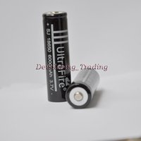 Wholesale Factory Outlets MAH V Li ion battery cell rechargeable Lithium batteries for laser flashlight torch