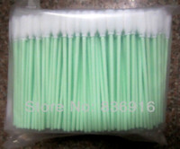 Wholesale 500 Solvent Resistant Printers Roland Mimaki Mutoh Small Foam head Cleaning Swabs Swab Sticks IN STOCK